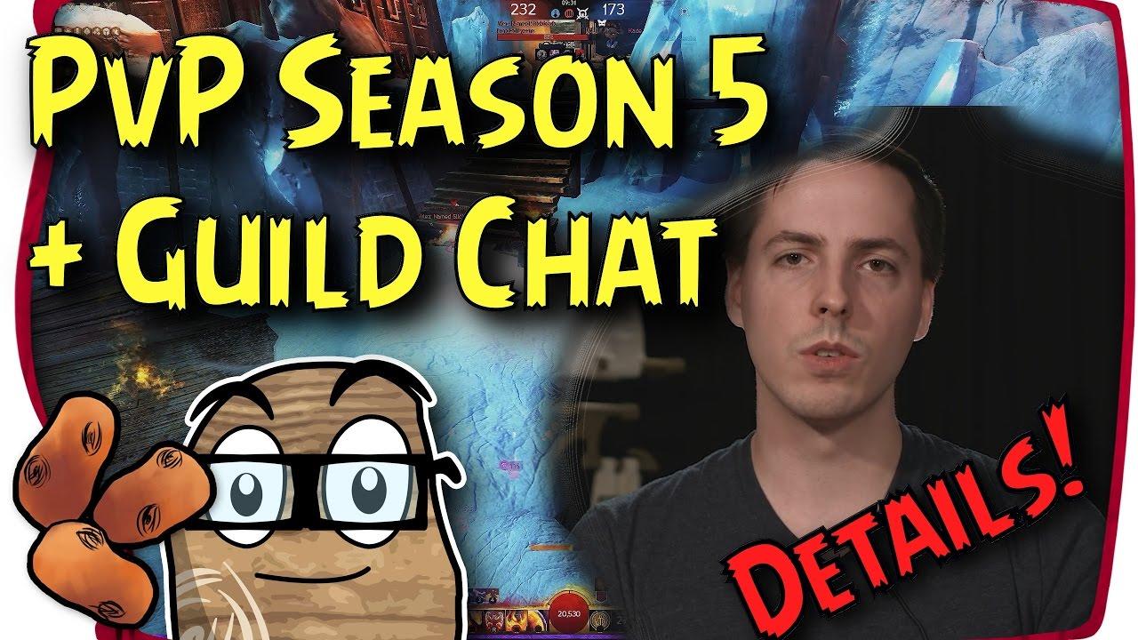Guild Wars 2 Pvp Season 5 Looking Epic Drops Tomorrow Guild Chat Recap