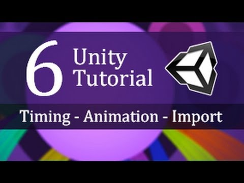 6. Unity Tutorial, Timing, Animation and Importing - Create a Survival Game