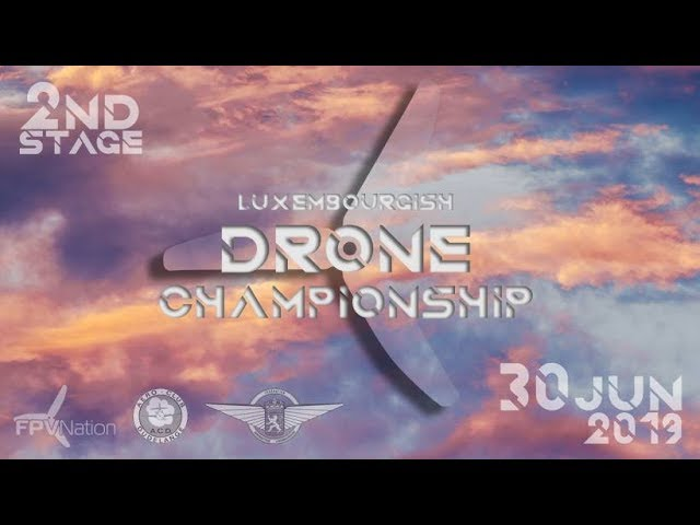Luxembourgish Drone Championship - Race 2 - 3rd place - First Podium !!