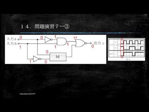 【工事担任者試験】論理回路14 問題演習7