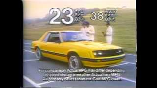 1980 Ford Mustang TV Ad Commercial  (4 of 6)