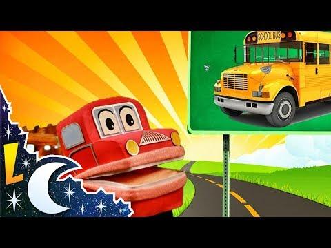 Barney el camión - Aprendemos los sonidos de los transportes - Video Educativo para niños #