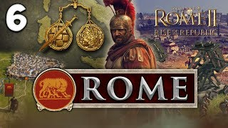 A NEW ENEMY! Total War: Rome II - Rise of the Republic - Rome Campaign #6