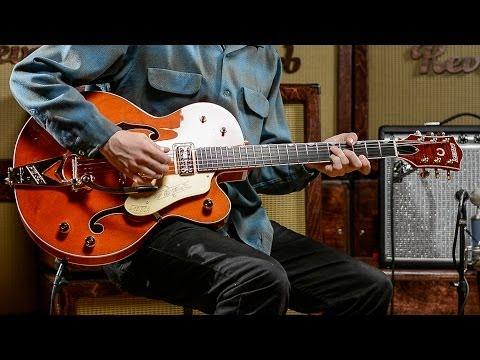 Gretsch G6120 Chet Atkins Hollowbody Demo