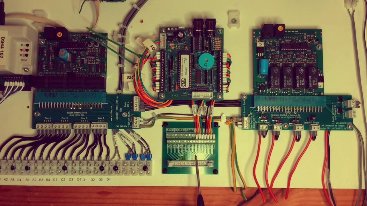 wiring a signatrak cml sigm20 digitrax dad [ 1280 x 720 Pixel ]
