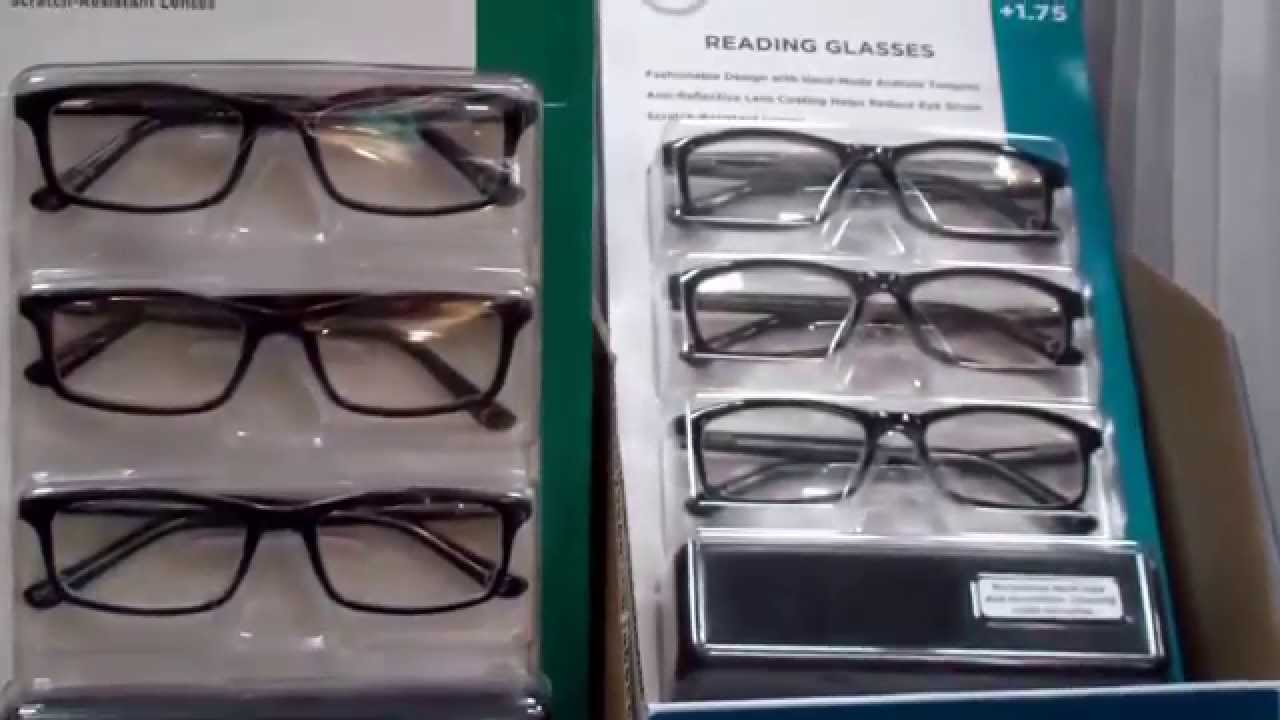 3d108606f4 Costco 3-Pack Reading Glasses - YouTube