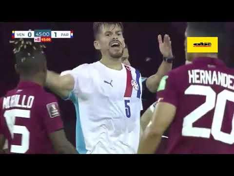 Venezuela 0 Paraguay 1- Gol y Penal Errado- Bruno Pont, Relato Emocionante - Cardinal 730 AM