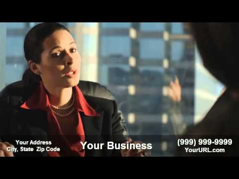 Thumbnail: Get this Tax Lawyer video commercial customized for your business at myseoassistant.com