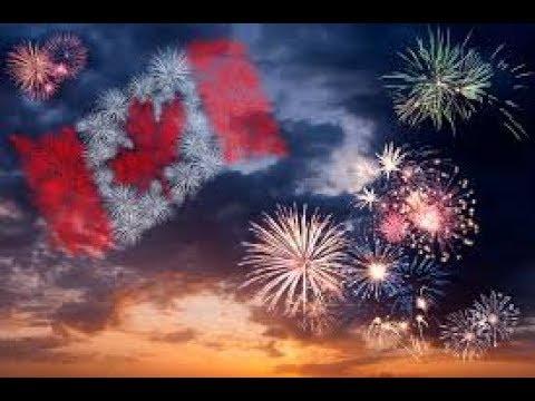 CANADA DAY 150TH EPIC FIREWORKS OTTAWA 2017, CANADA