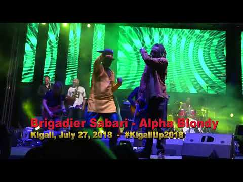 ALPHA BLONDY - Brigadier Sabari: Live At KigaliUp, Rwanda 2018