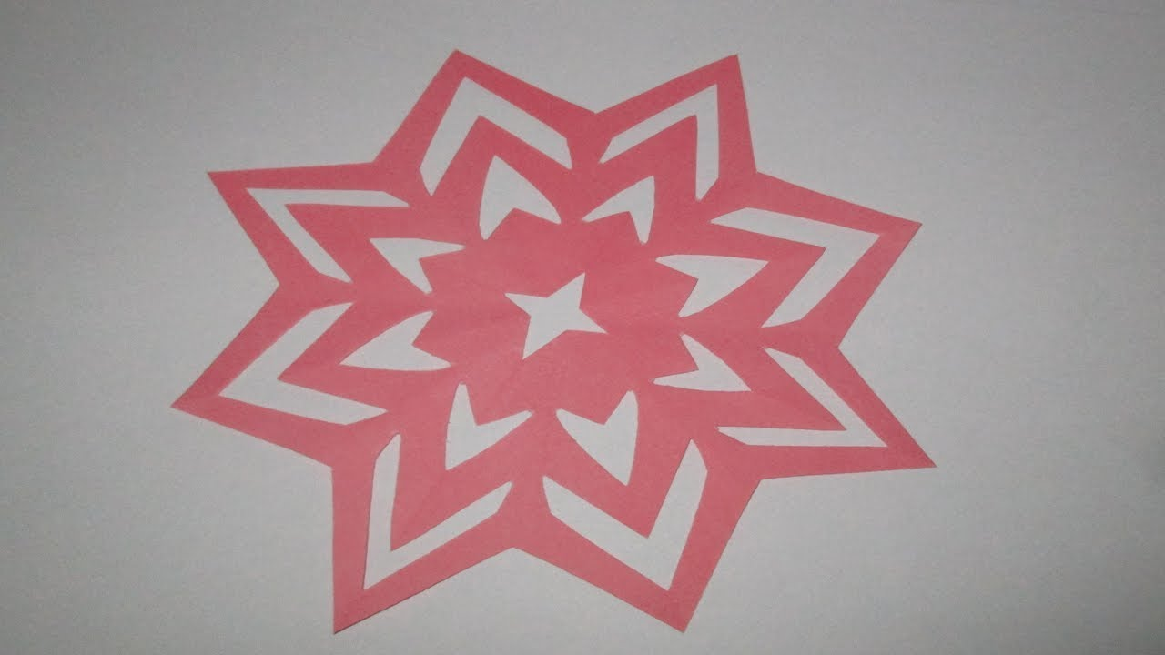 How To Make Simpleeasy Paper Cutting Flower Designsdiy Paper Cut
