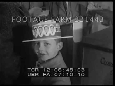 The Election of John F. Kennedy - 221443-01 | Footage Farm