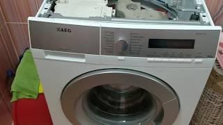 стиральная машина AEG L 99695 ремонт