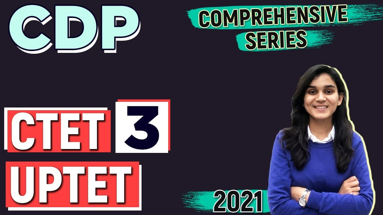 CTET/UPTET CDP Comprehensive Series   Socialisation, Gender, Child Centered Education   Class-03