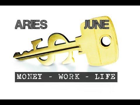 ARIES JUNE 2018 MONEY-WORK-LIFE In-depth Tarot