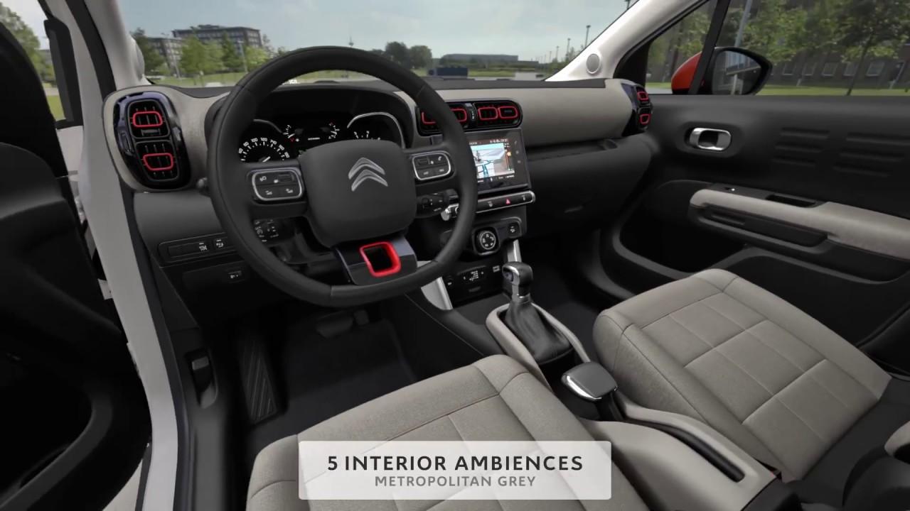 citroen c3 aircross possibilites de personnalisation youtube. Black Bedroom Furniture Sets. Home Design Ideas