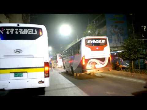 Dhaka night-  Buses & Coaches
