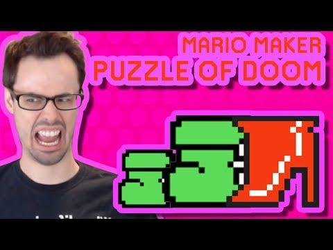 Mario Maker - The Return of Echigo Mole (Huge Epic Puzzle Level)