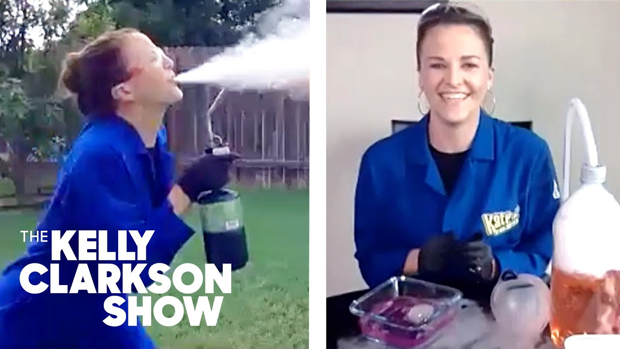 Chemist Shows How To Breathe Fire Using Just Household Ingredients