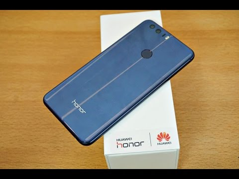 Huawei Honor 8 - Unboxing, Setup & First Look! (4K)