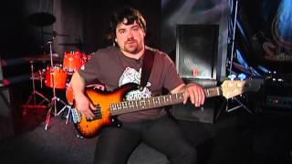 Уроки басгитары #1. Простой басовый рисунок
