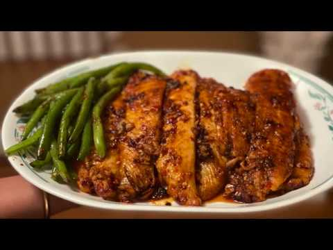 How To Make Spicy Glaze Swai Fillet | Ruma's Rannaghor
