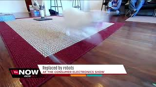 Replaced by Robots: Featured robots at the Consumer Electronics show.