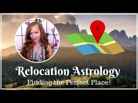 Relocation Astrology! Finding the PERFECT place for big moves, vacations and more!—with Heather