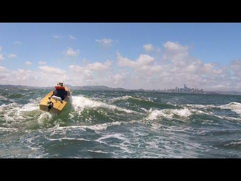 Mini Boat - Sea Trials 2