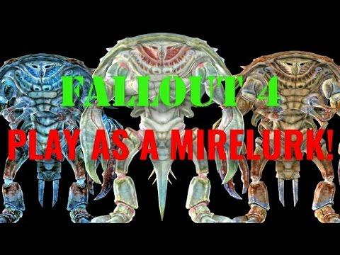 Fallout 4 - Playable Mirelurk MOD!