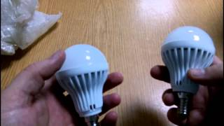 Посылка из Китая №19. LED-лампочки E14 мощностью 7 Ватт.(, 2015-05-03T19:25:40.000Z)