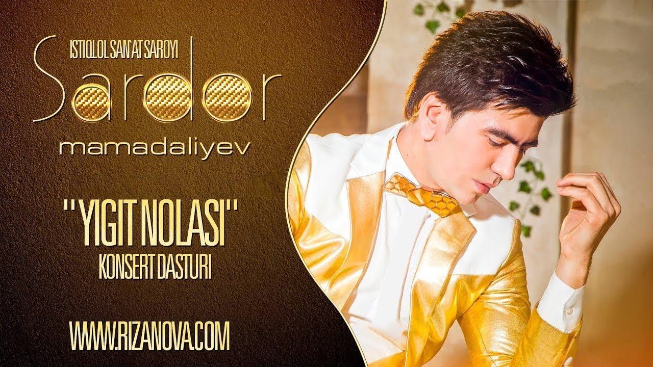 Sardor Mamadaliyev - Yigit nolasi nomli konsert dasturi 2018 #UydaQoling