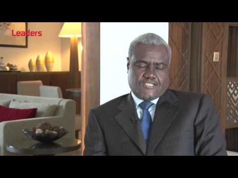 Moussa Faki Mahamat, ministre tchadien des A.E