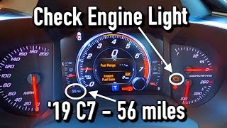 my-brand-new-2019-c7-corvette-has-issues-check-engine-light-fuel-pump-and-more
