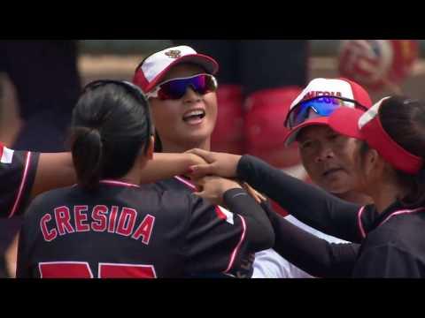 Full Highlight Softball Indonesia Vs Filipina   Asian Games 2018   Vidio Com