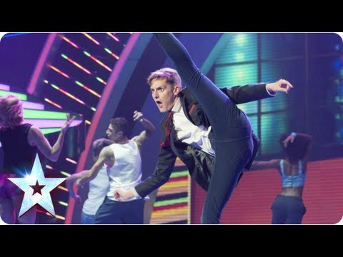 Philip Green shows off his impressions and dance moves! | Semi-Final 1 | Britain's Got Talent 2013