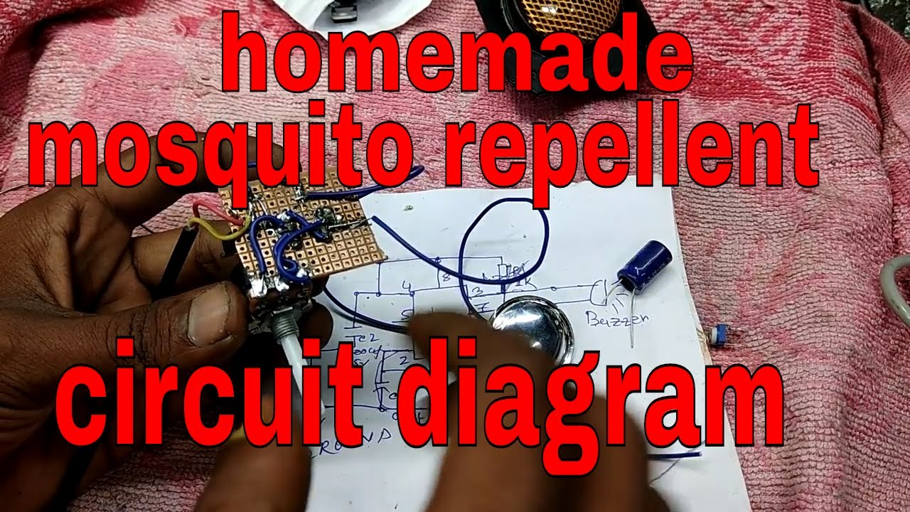Mosquito Repellent Circuit Diagram Insect Repeller Power Saver Homemade Youtube Best