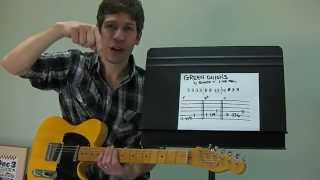 "Easy Guitar PLAY-ALONG Lesson : ""Green Onions"" by Booker T. & The MGs!"
