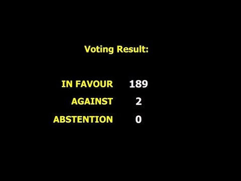 General Assembly vote to end USA embargo against Cuba (GA73/2018)