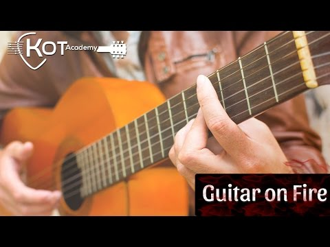 Kot Academy - Guitar on Fire by Kot