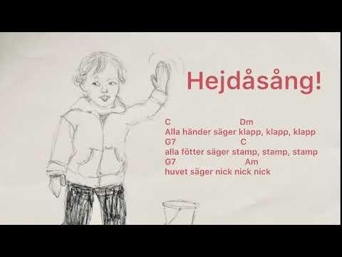 Hejdå sång samling förskola: Alla händer säger klapp, klapp, klapp (mel. Raska fötter springa..)