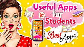 8 Useful apps for students ⭐Best apps for students👩🎓Best Free study Apps #shorts