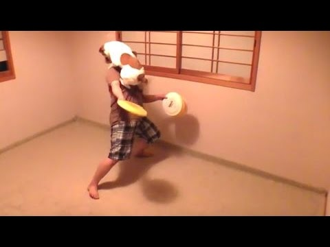 Amazing Frisbee Dog Tricks ⑤ Jack Russell Terrier ☆ capi ☆