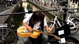 my favorite Blues Slide Guitar Street Musician
