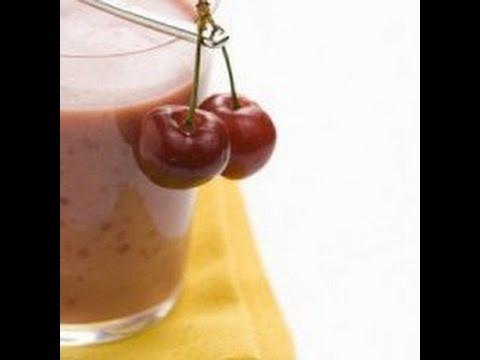 Шоколадно-клубничный Смузи или Йогурт Сыроедный