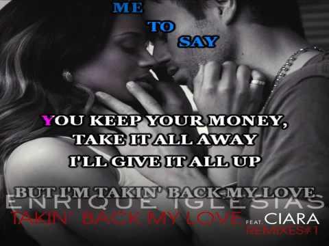 Takin' Back My Love (Karaoke)