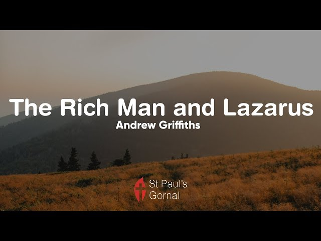 The Rich Man and Lazarus - Andrew Griffiths