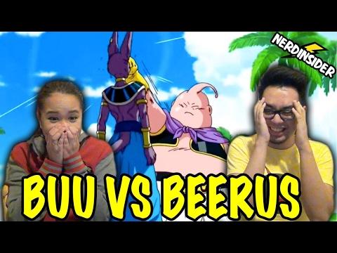 DRAGON BALL SUPER English Dub Episode 6 Majin Buu VS Beerus REACTION & REVIEW