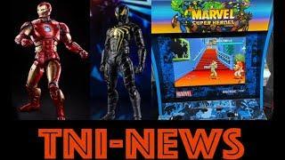 Arcade1up Marvel Super Heroes Game Unboxing Plus Marvel Legends & S.H. Figurarts Game Figure News