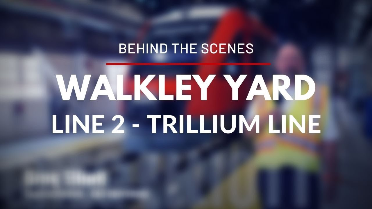Behind the Scenes : Walkley Yard / Dans les coulisses : La cour de triage Walkley